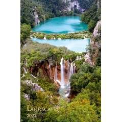 Calendar de perete Landscapes 2022