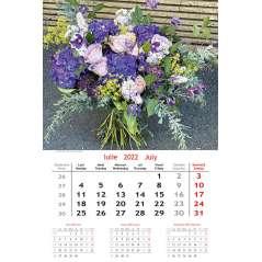   Calendar de perete Buchete 2022