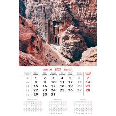 Calendar de perete Travel 2021