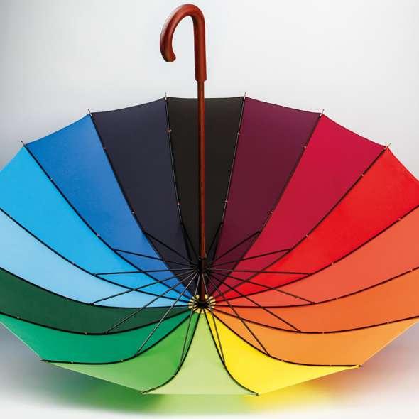 Umbrela curcubeu Doha