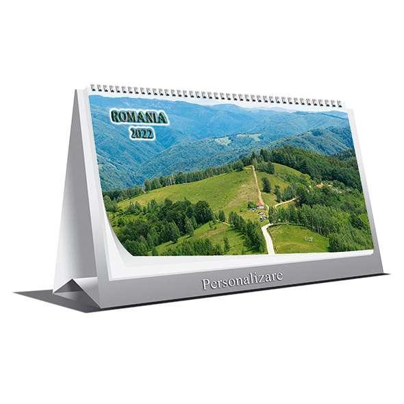 Calendar de birou Romania 2022
