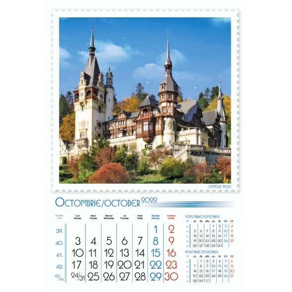 Calendar de perete Romania 33x48 cm
