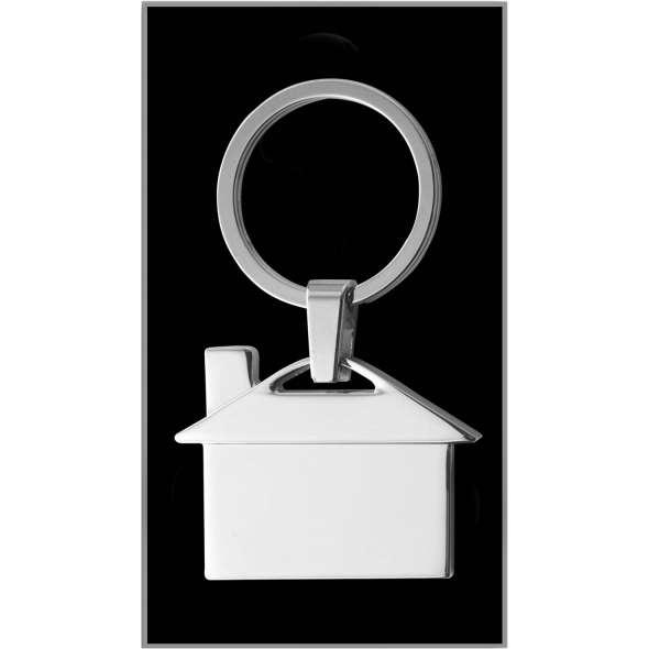 Breloc metalic in forma de casa