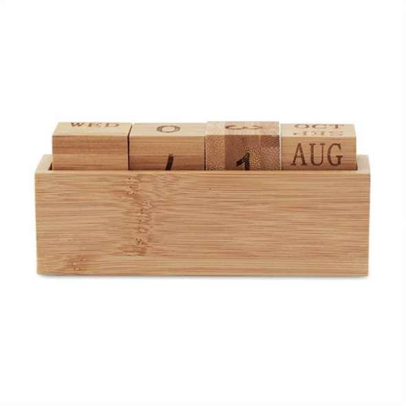 Calendar bambus Esterra