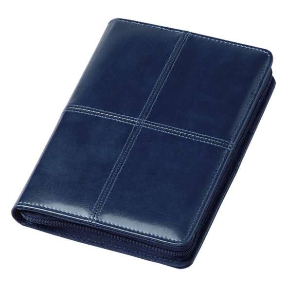 Agenda Lux 15x21 cm Bluette cu fermoar