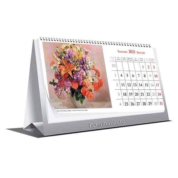 Calendar de birou Buchete 2021