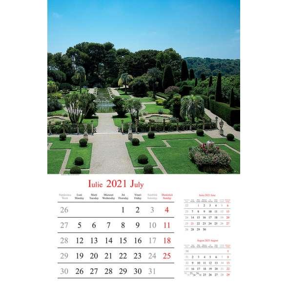 Calendar de perete Gradini 2021
