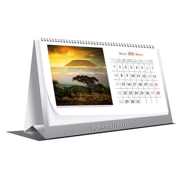 Calendar de birou Landscapes 2021