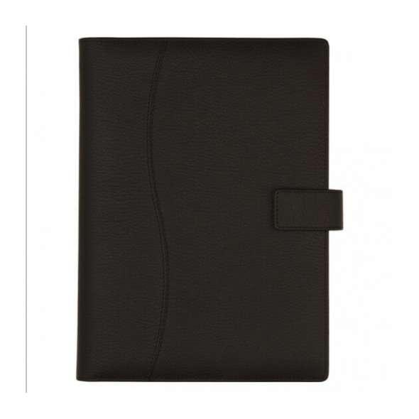 Agenda piele 15x21 cm Black